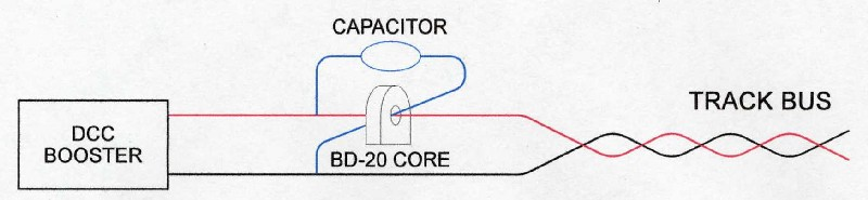 Capacitor Compensation for Block Detection
