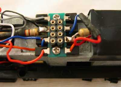 Wiring For DCC Decoder installation into a Proto 2000 HO