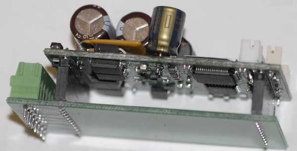 Close-up of QSI Decoder