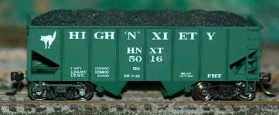 HNXT Custom Hopper Car